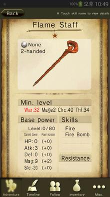 Flame Staff