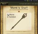 Monk's Staff