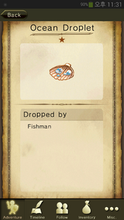 Ocean Droplet