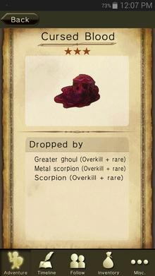 Cursed Blood