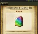 Philosopher's Stone 3☆