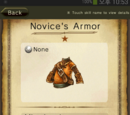 Novice's Armor