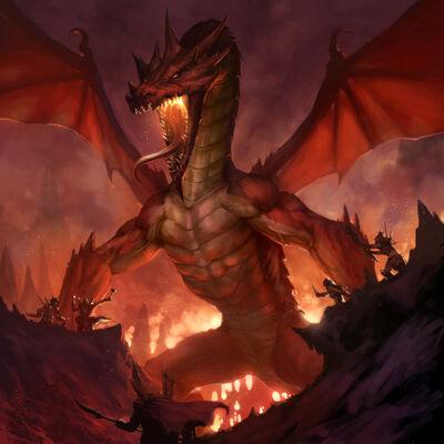 Kalmyregon the Redwyrm