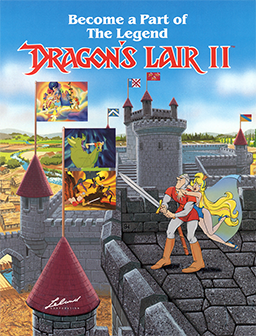 File:Dragon's Lair II - Time Warp Flyer.png