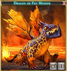Dragon de feu mineur