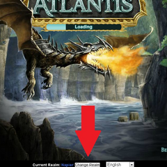 Change Realm button location on Kabam.com