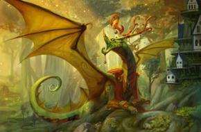 Amber Crest Dragon