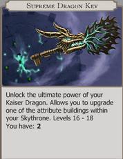 Supreme Dragon Key