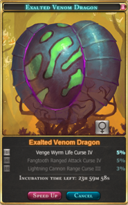 Exalted Venom Dragon(Venom Tournament 1st-2nd)