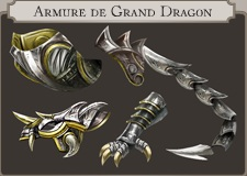 Armure de grand dragon