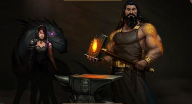 Hephestus forge