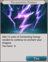Enchanting Energy Info icon