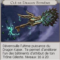 Clé de dragon suprême