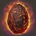Huevo fuego