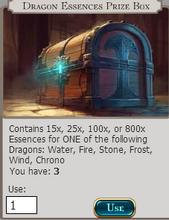 Dragon Essences Pize Box