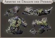 Armure du dragon des pierres