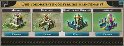 Possibilité construction