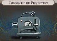 Dispositif de projection