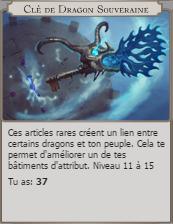 Dragon key Souverain