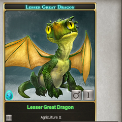 Amber Crest / Great Dragon hybrid