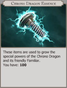 Chrono dragon essence