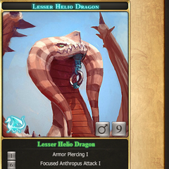 lesser helio dragon