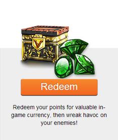 Kabam Rewards Redeem