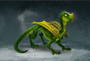 Juvenile Dragon (level 6)