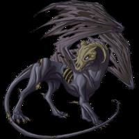 Bone dragon ashen