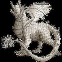 Stone dragon granite