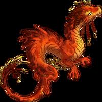 Moon dragon Sanguine Moon V2