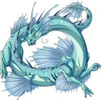 Water dragon frigid depths