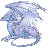 Ice dragon aurora
