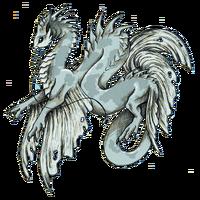Koi dragon Gin Matsuba