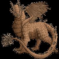 Stone dragon orchre