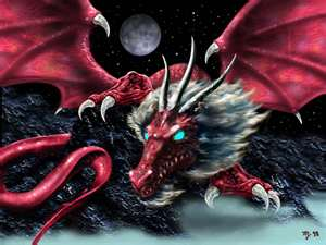 Pretty dragon!