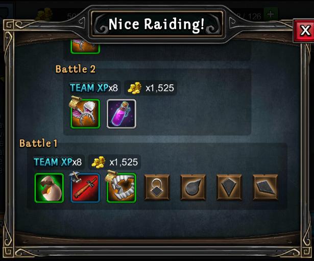 Nice Raiding