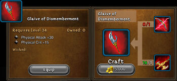 Glaive of dismemberment