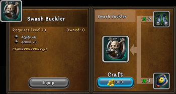 Swash buckler