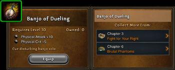 Banjo of dueling