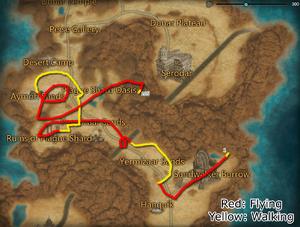 Shrouded Carnage Map