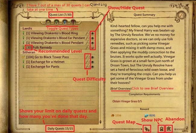 Quest Guide