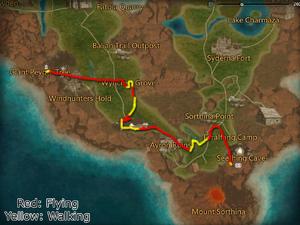 Umbral Glare Map