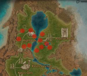 Highland Longtooth Dragon Map