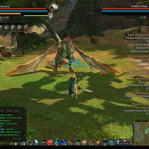 Umbral Glare in the closed zone of Bakra. (Screenshot credit to Heroine).