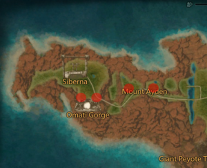 Flecked Raptor Dragon Map