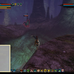 Ancient Shadows previous spawn location on the ledge behind the boss room. This is no longer valid.