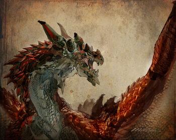 Flame-dragon-variant