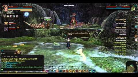 Dragon's Prophet Indigo Flare Spawn in Consus Cave