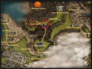 Volcanic infiltrator dragon location